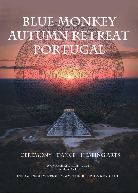 Blue Monkey Autumn Retreat Portugal