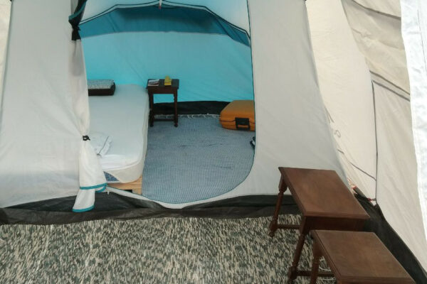 Blue Monkey Autumn Retreat Portugal glamping tent